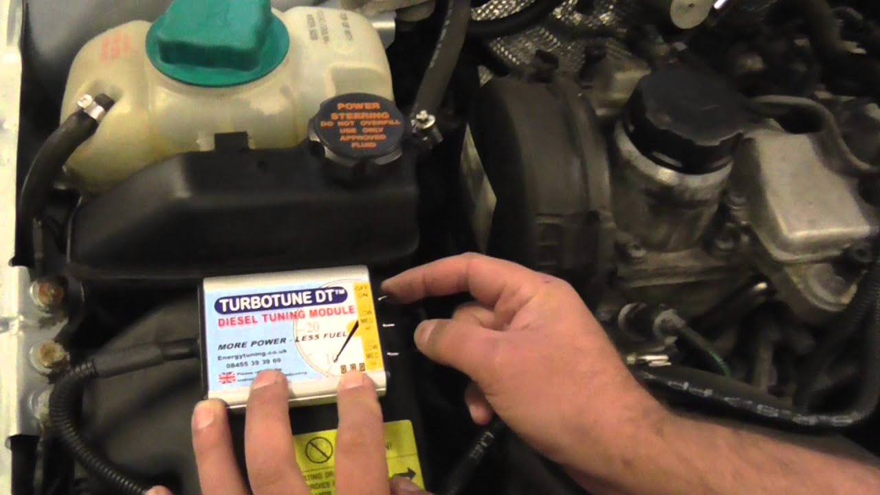 Volvo 2 4 D5 Turbotune diesel chip tuning box fitting guide