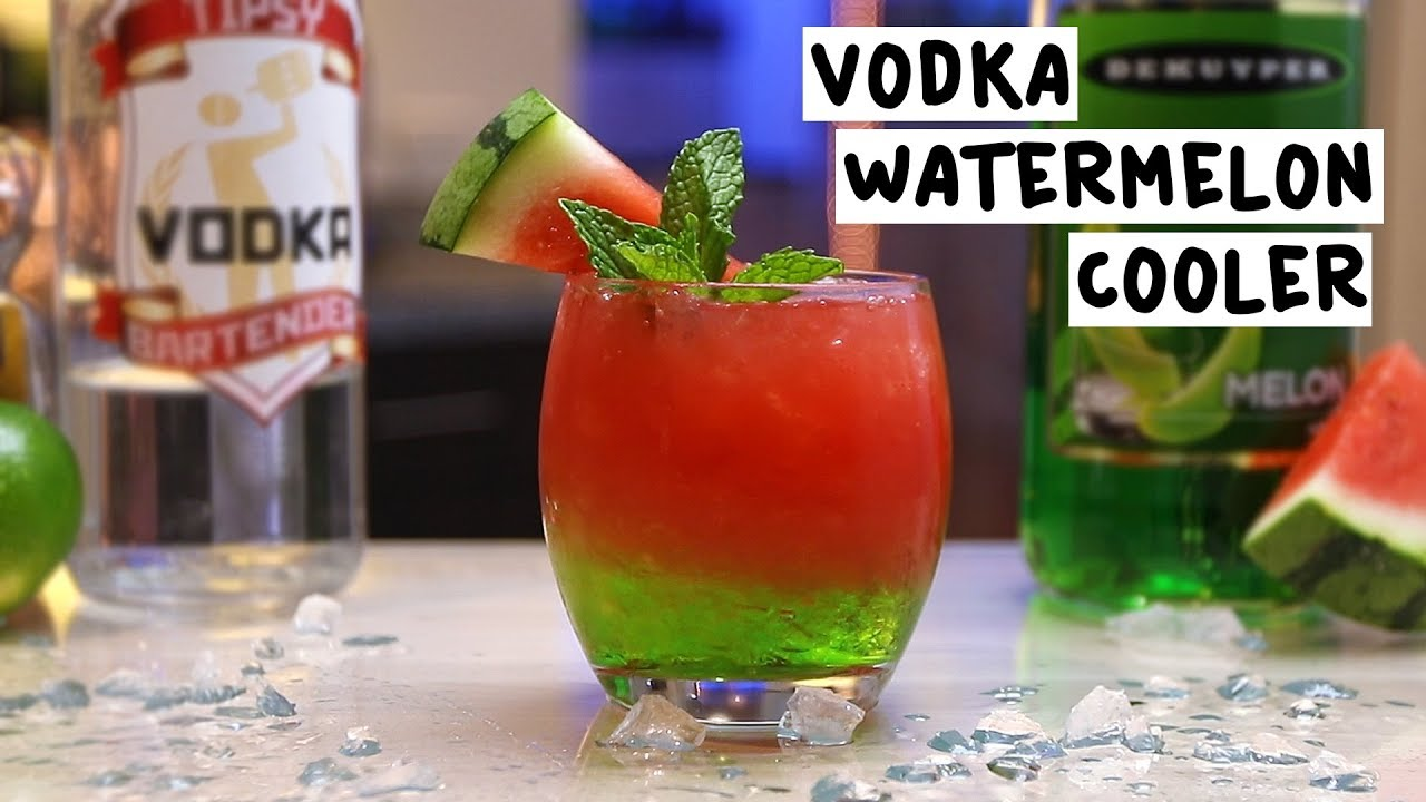 Frozen Watermelon Vodka Drink Recipes