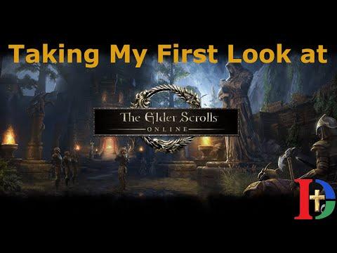 My First Impressions Of Elder Scrolls Online Here In 2020