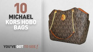 Top 10 Michael Kors Hobo Bags For Women: MICHAEL Michael Kors women's Jet set Travel large chain