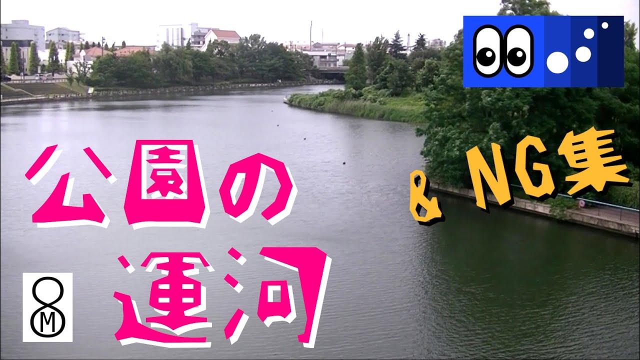 【水辺潜入】梅雨の晴れ間、公園の運河にいた生き物は? <NG集あり>