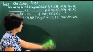 Toán 7. Các trường hợp bằng nhau của tam giác (Phần 1)
