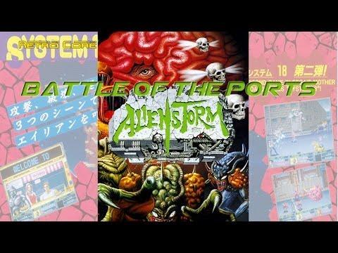 Battle of the Ports - Alien Storm - エイリアン ストーム (show #13)