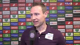 Robert Ibertsberger nach der Niederlage in Graz