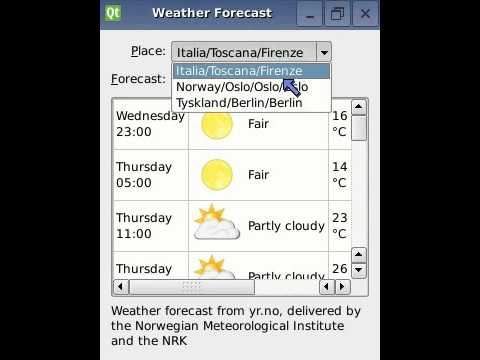 Checking the Weather with XQuery