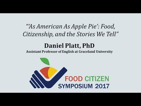 """'As American As Apple Pie': Food, Citizenship, and the Stories We Tell"""