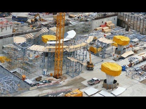 Baustelle Stuttgart 21 im November 2017