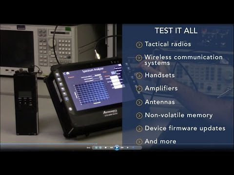 Radio Test Set from Astronics Test Systems
