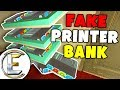 Fake Money Printer Bank - Gmod DarkRP Life (I Stole Everyone's Money From Printers Made 1 Million)