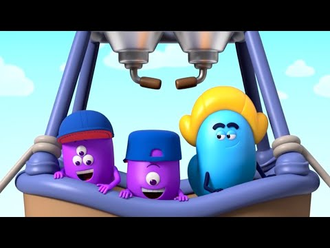 AstroLOLogy | Hot Air Balloon | Chapter: On The Move | Compilation | Cartoons For Kids