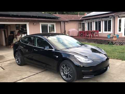 Tesla Model 3 - Car Number 1191, 1 week old.
