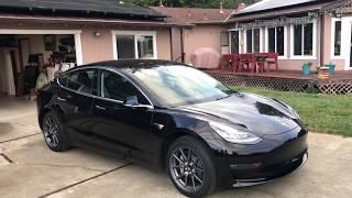 Tesla Model 3 - Car Number 1191, 1 week old.