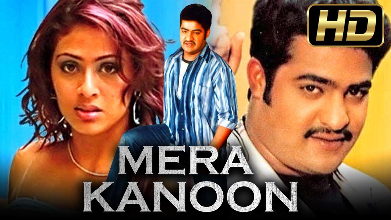 मेरा कानून | Mera Kanoon (HD)- Blockbuster Hindi Dubbed Full Movie |Jr. NTR, Sadha, Jennifer Kotwal