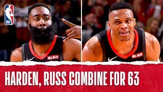 Harden & Russ Combine For 63!