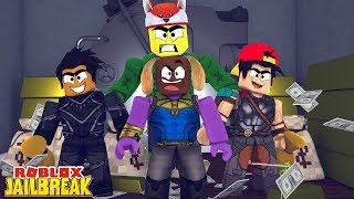 INFINITY WARS IN JAILBREAK - THANOS TAKEOVER - Roblox gaming adventures