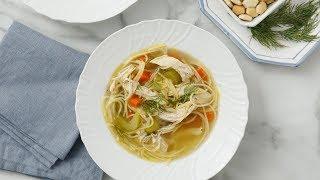 Easy Chicken Noodle Soup - Martha Stewart