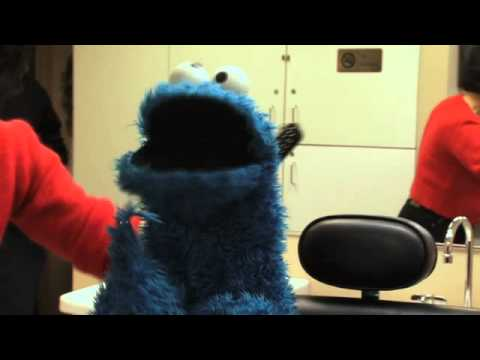 Cookie Monster Behind-the-Scenes at The Dr Oz Show
