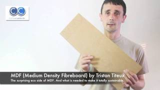 Eco Materials 1 MDF (medium Density Fibreboard) By Tristan Titeux