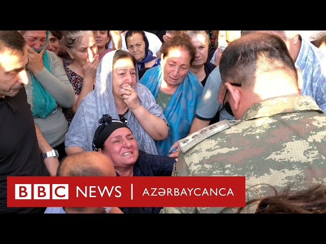 General-mayor Polad Həşimovun vəfatı ilə bağlı yürüş - BBC News Azərbaycanca