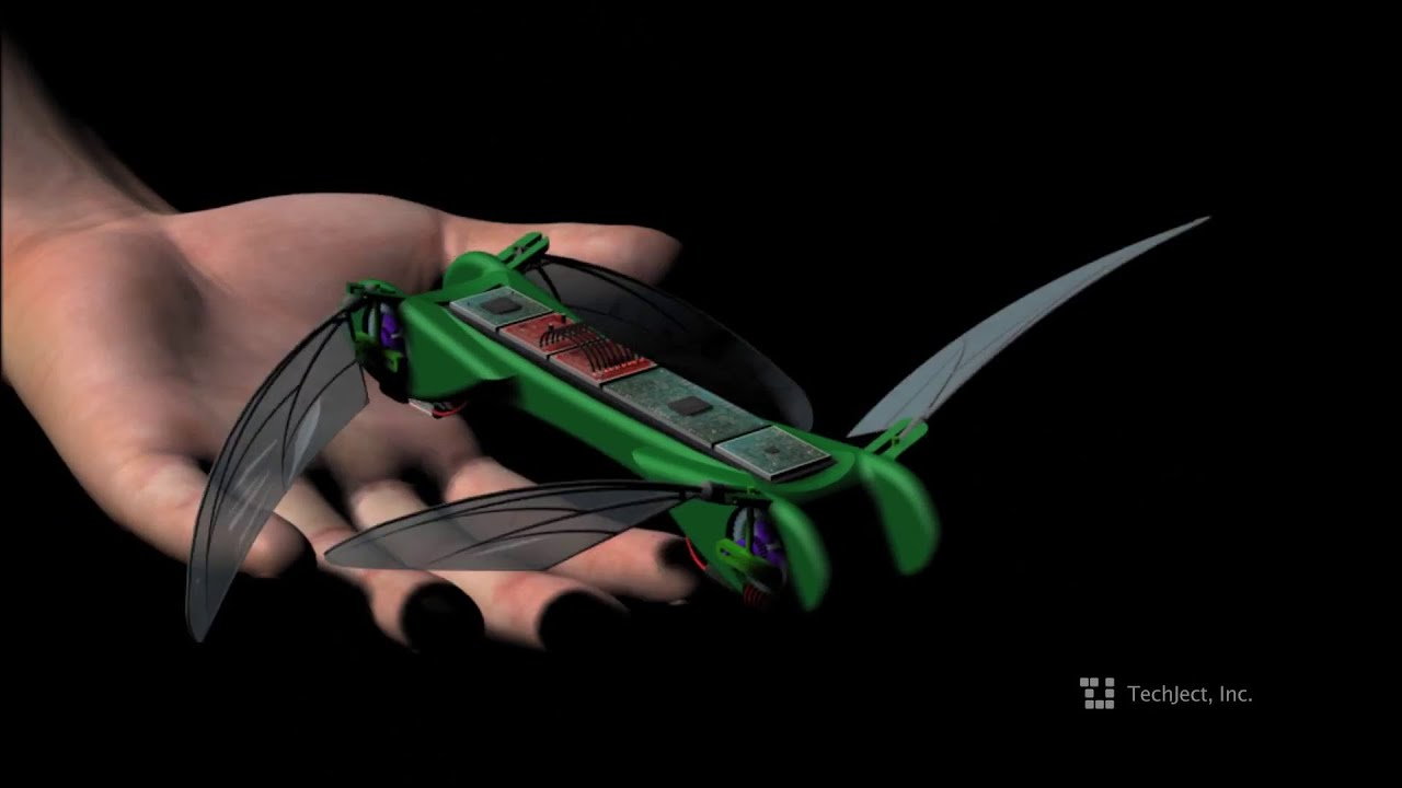 robotic uav dragonfly youtube