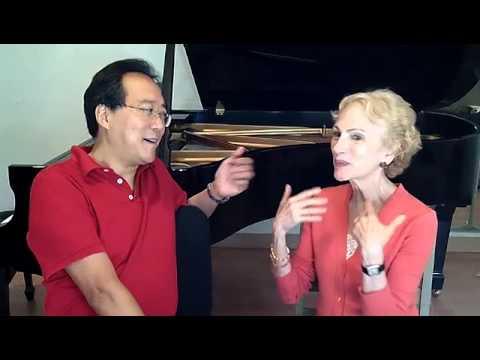 Yo-Yo Ma Interviews Eugenia Zukerman