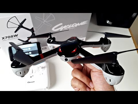 Amazing Budget RC Drone with Action Camera -  Drocon Cyclone Drone X708W