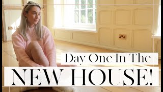 DAY ONE AT THE NEW HOUSE | 🏠 Moving Vlogs Episode 3  |  Fashion Mumblr