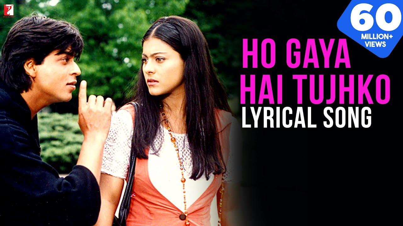 Download Ho Gaya Hai Tujhko | Lyrical Song | Dilwale Dulhania Le Jayenge | SRK, Kajol | Anand Bakshi | DDLJ