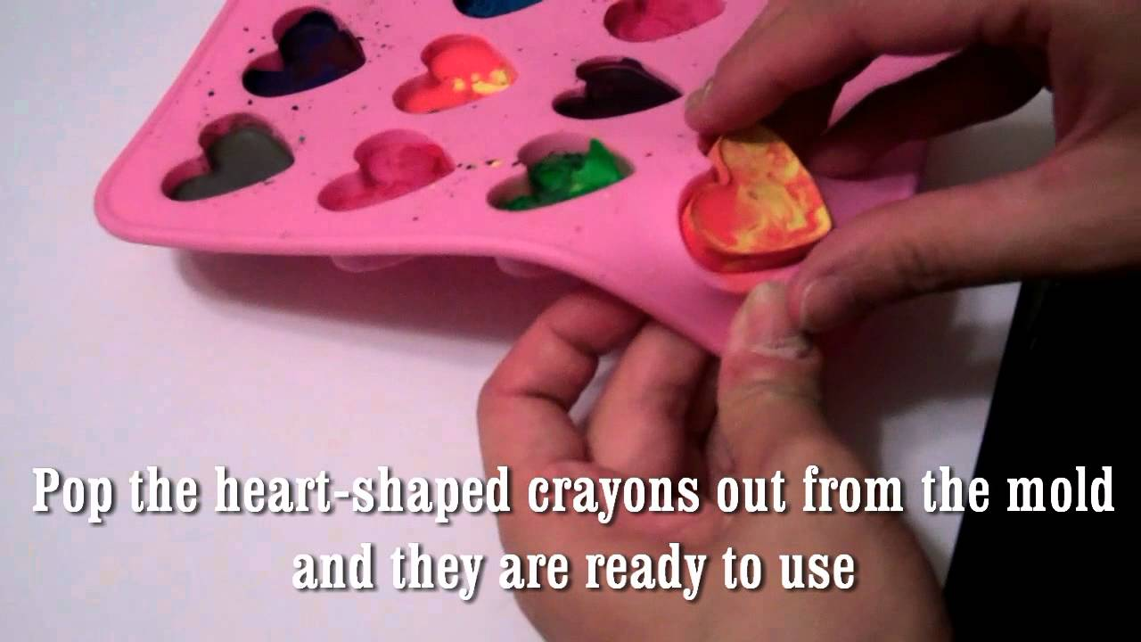 Easy Way To Recycle Old Crayons And Make Them Cool Youtube
