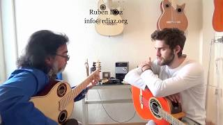 Intertwining chords in the Andalusian Cadence 4 Paco de Lucia´s flamenco style /Ruben Diaz Lessons