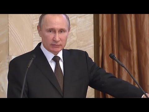 Путин поблагодарил ФСБ