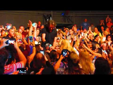 Rick Springfield getting touched by all!!