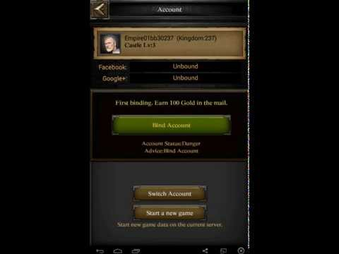 Clash Of Kings Setting Up A Farm Account