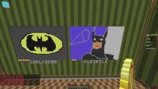 BATMAN (Pixel Painters Minecraft)