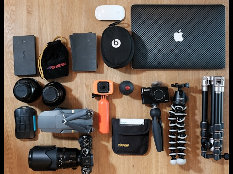 What's In My Travel Camera Bag - Costa Rica Edition