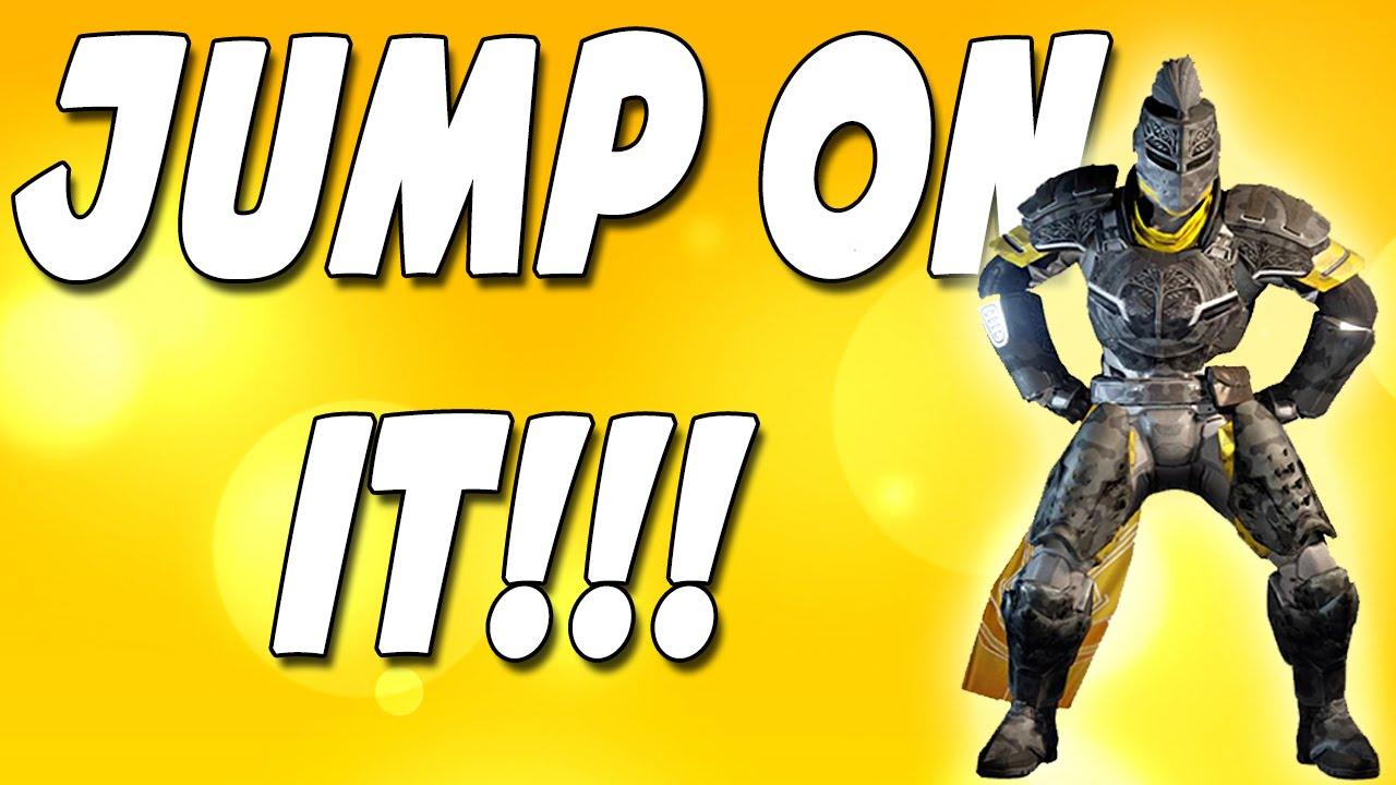 Destiny Jump On It A Destiny Dance Montage Youtube