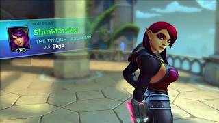 Paladins:  The Guilde Skye skin is bangin