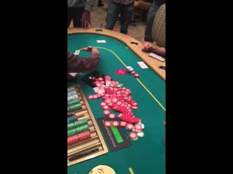 Borgata Poker 2/5 NL No Limit Huge Pot, 4 all ins
