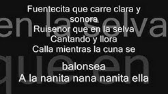 A La Nanita Nana - The Cheetah Girls-lyrics