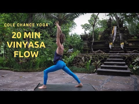 Cole Chance 20 min Intermediate Power Flow - Yoga for Energy and Strength