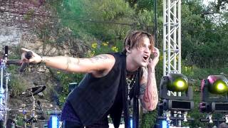 Hinder - Better Than Me @ Sunken Gardens Theater - San Antonio, TX