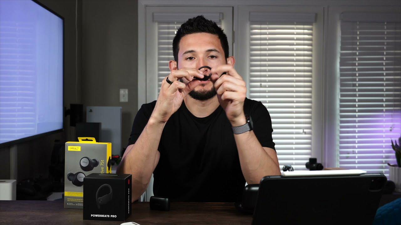 Download Best Workout Headphones for Serious Training: Powerbeats Pro vs Jabra Elite Active 75t