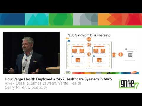 How Verge Health Deployed a 24x7 Healthcare System on AWS