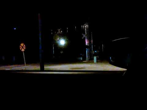 Night Time Idabel, Oklahoma Freight Train!!