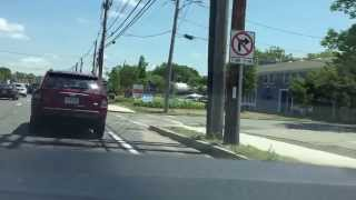 natick ma intersection of route 9 and oak street