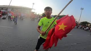 không khí trước thềm trận lượt về với Philipin tại sân vận động quốc gia MỸ ĐÌNH!