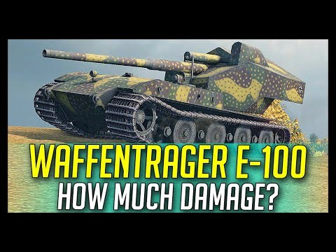 ► Waffenträger E-100, How Much Damage? - World of Tanks Past #17