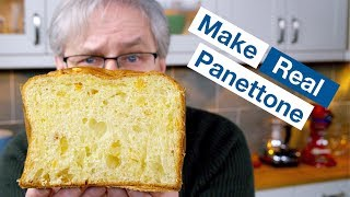 🔵 How To Make Panettone Naturally Leavened With Sourdough / Sweetdough