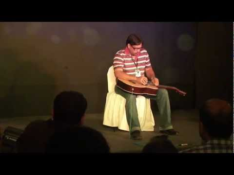 Surajit Dubey Rim Jhim Gire sawan in hawaiin guitar