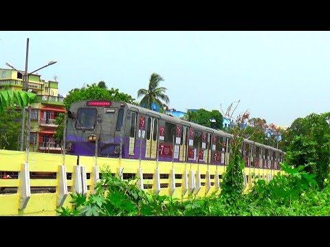 KOLKATA  METRO RAIL AT DUMDUM    INDIAN RAILWAYS thumbnail